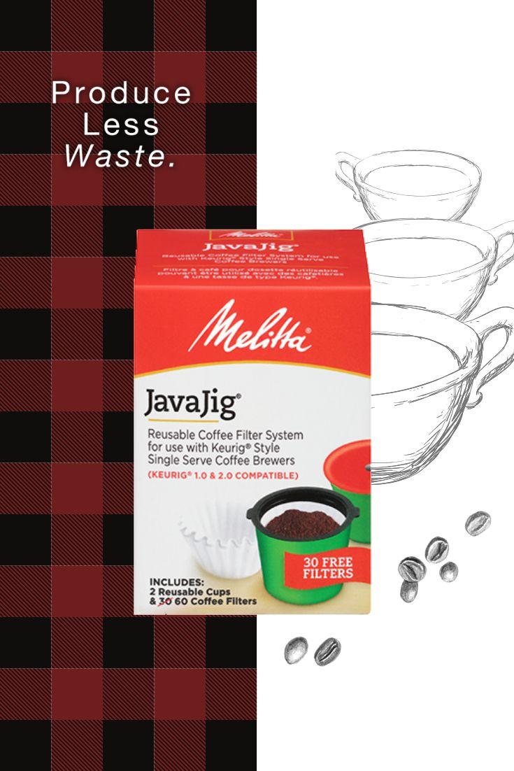 JavaJig SingleServe Kit Single serve, Reusable coffee
