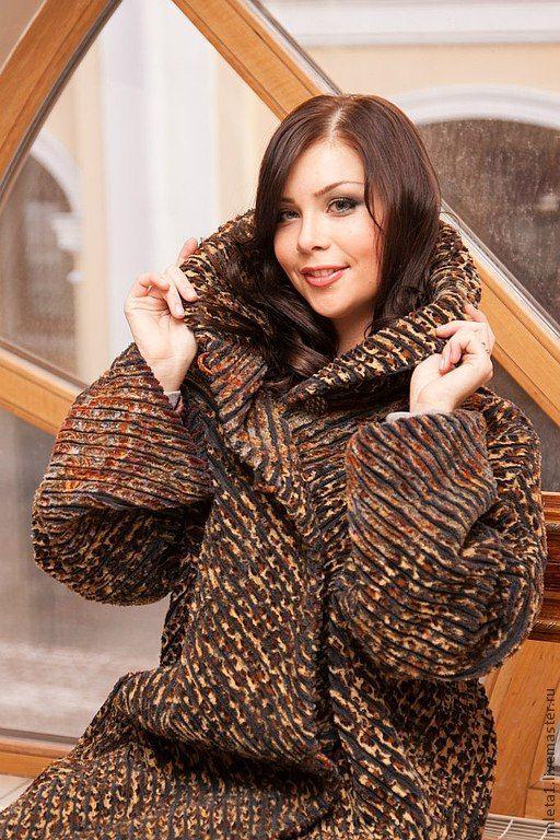 пальто демисезонное  Леопардовые сны