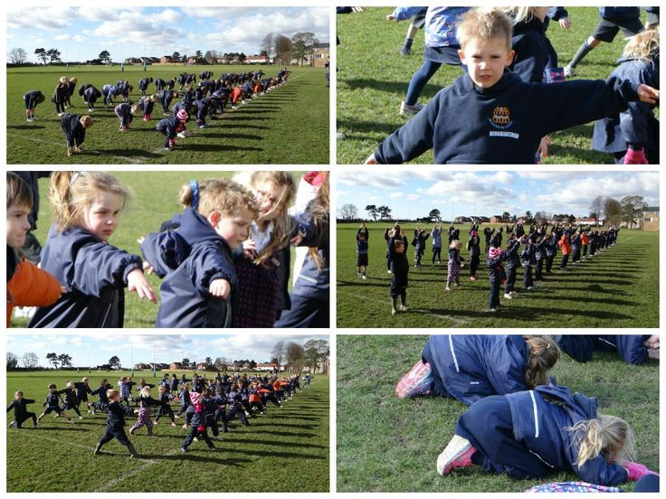 @Pockpreprep prepared for their Outdoor Education this afternoon with a little yoga!