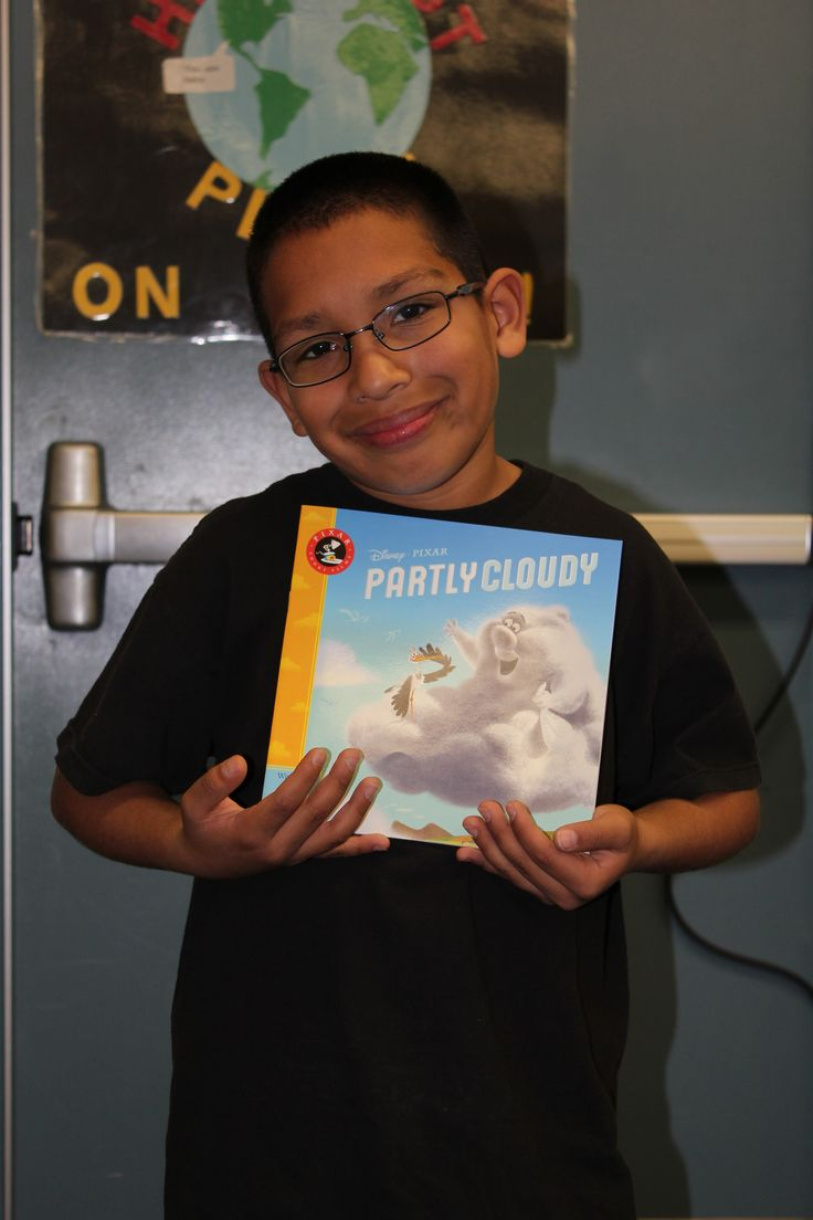 A reader from Esther L. Walter Elementary at graduation!