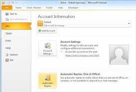 Working with the Out of Office Assistant in Ms Outlook 2013 https://www.datanumen.com/blogs/working-with-the-out-of-office-assistant-in-ms-outlook-2013/