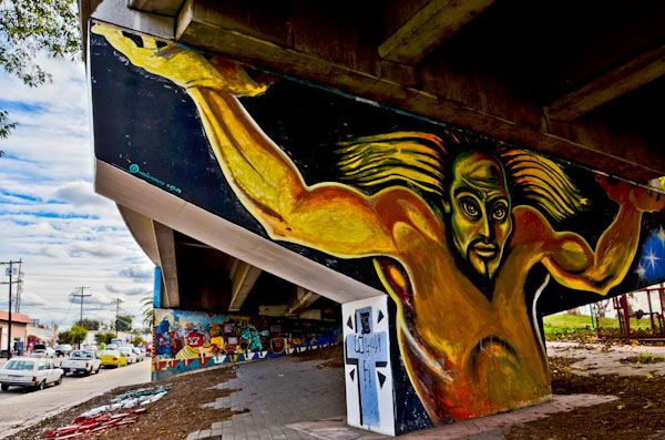 Mural at Chicano Park, San Diego, CA
