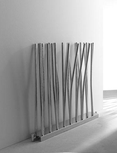 Grzejnik dekoracyjny Bambù, producent Deltacolor.