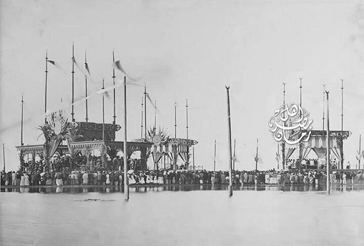 1869 opening ceremony of Suez canal
