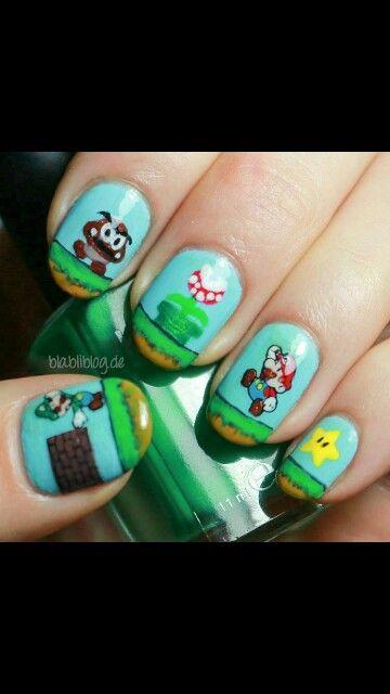 Perfect mario nails