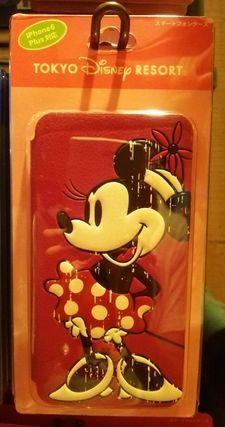 スマートフォンケース iPhone6 Plus対応 ミニー