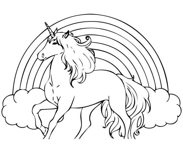 Molde De Unicornio Para Imprimir Eva Feltro E Outros Com