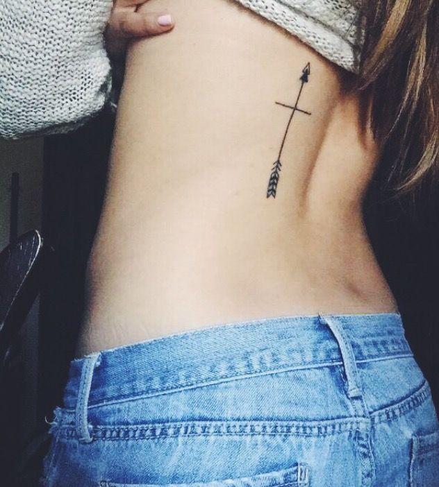➳ My cross and arrow tattoo ➳