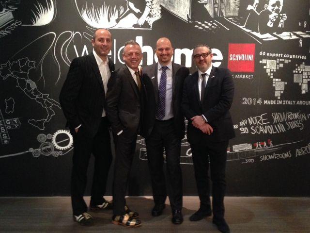 Scavolini USA at #SaloneDelMobile! #MilanoDesignWeek