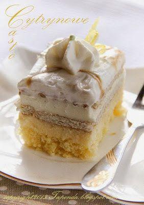 Ciasto cytrynowe | TAPENDA Przepisy Kulinarne na każdy dzień