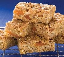 Apricot and Almond Energy Slice