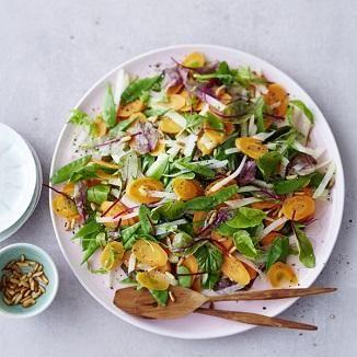 kohlrabi moehren salat