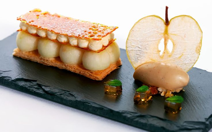 A classy new take apple pie / apple crumble from Chef Mark Jordan -- Apple Galette [Great British Chefs]