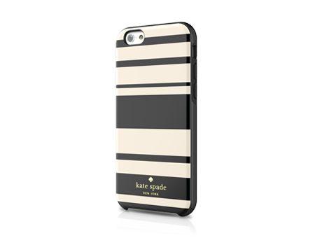 Kate Spade Fairmont Stripe Hybrid Hardshell Case for iPhone 6