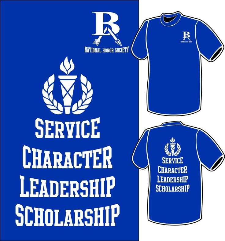 Broken Arrow High Schools National Honor Society shirts for 2016