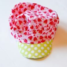 Sew a Strawberry Shortcake Costume - The Hat