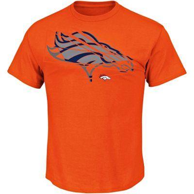 Denver Broncos Game Reflex T-Shirt - Orange