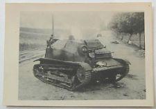 Polnischer Panzer Tank Tankette nach Paktreffer