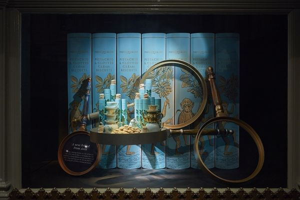 """FORTNUM&MASON,LONDON, UK, """"Close-Up.....Discover the Detail"""", pinned by Ton van der Veer"""
