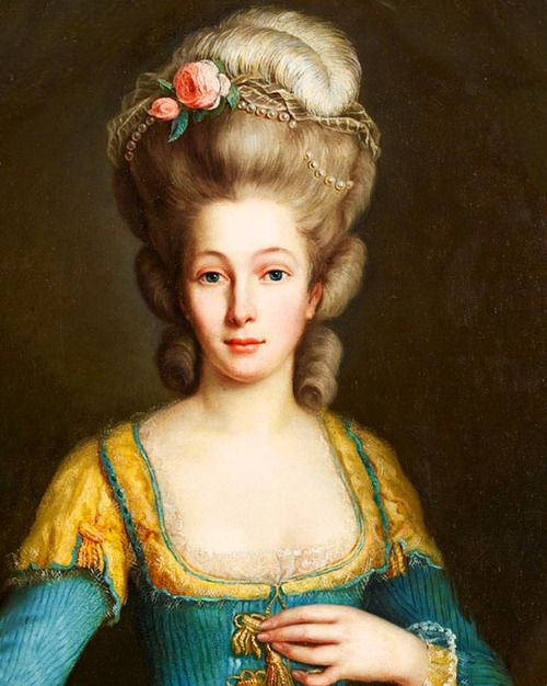 unknown Lady by an unknown artist of the Swedish school, 18th Century.