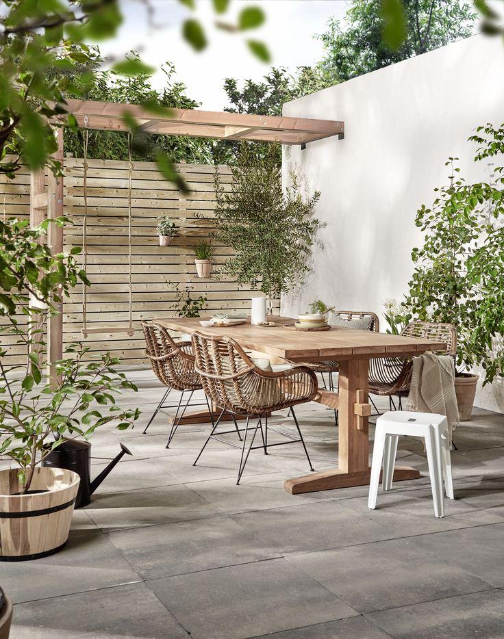Combineer hout met bamboe voor een naturel tuin | Combine wood with bamboo for a natural garden | KARWEI 3-2018