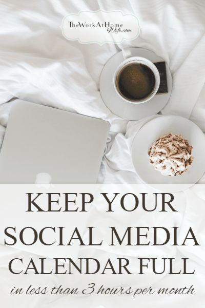 Here are the tasks and resources that have allowed me to get great results from social media while only spending a few hours each month sourcing and scheduling updates.