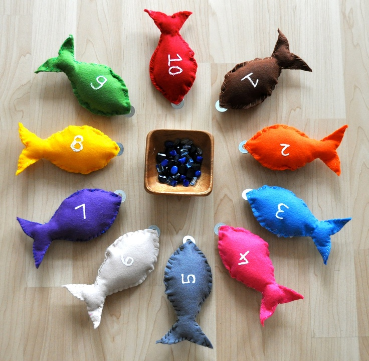 """""""Feed the Fish"""" Activity (from Sorting Sprinkles)"""