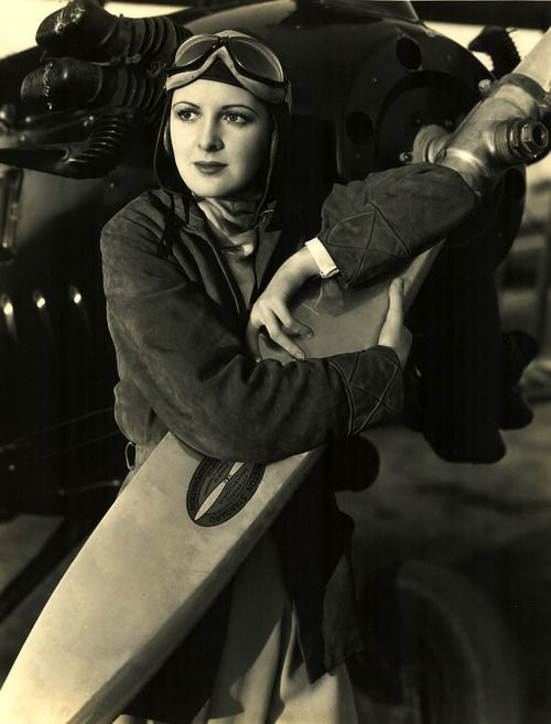 .Актриса Билли Дав .1925 Авиапочта | The Air Mail (США)