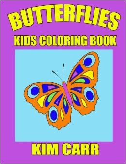The Butterflies Kids Coloring Book can keep your children occupied for hours, coloring their favorite cartoon type butterfly. Coloring at such a young age is great for cognitive, fine motor skill development while they learn to color in the lines and make their parents their own beautifully colored pictures filled with love.