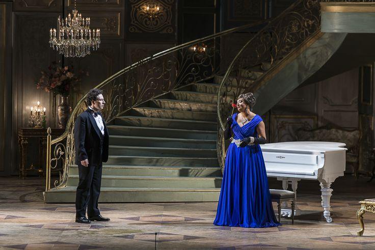 Lucian Corchiş (Alfredo) şi Siphiwe McKenzie (Violetta)