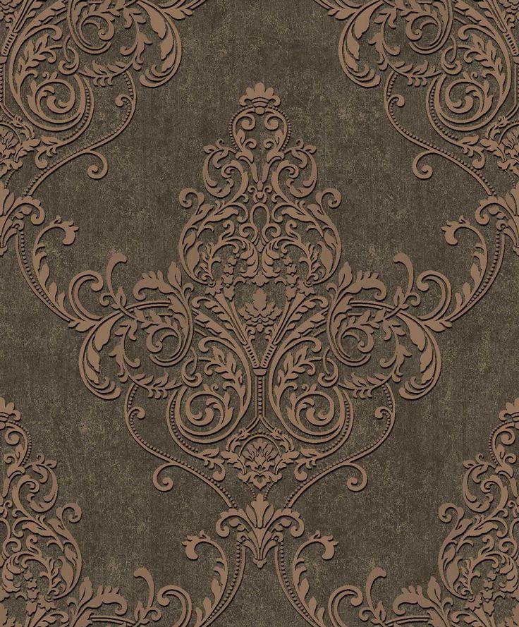 Valdina Bronze wallpaper by Arthouse