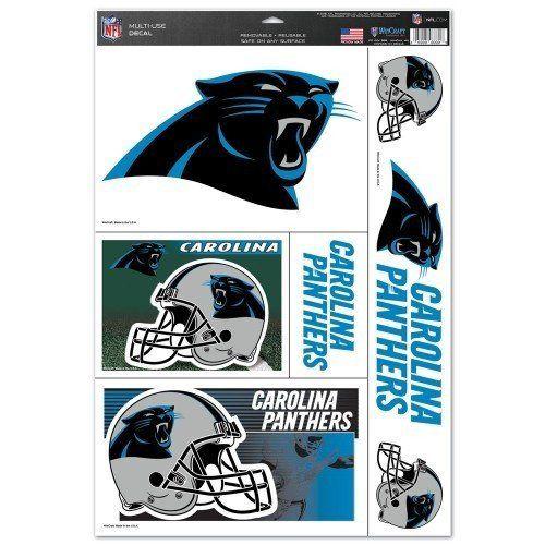 NFL Carolina Panthers Decal 11x17 – 460 Sports