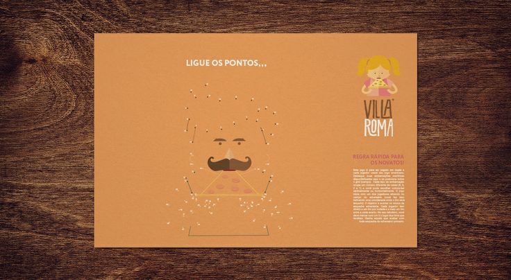 Sweety Branding Studio has released their new design for Villa Roma, a traditional and popular pizzaria from São Paulo. Villa Roma is ranked one of the top 30 restaurants in the capital by TripAdvisor.