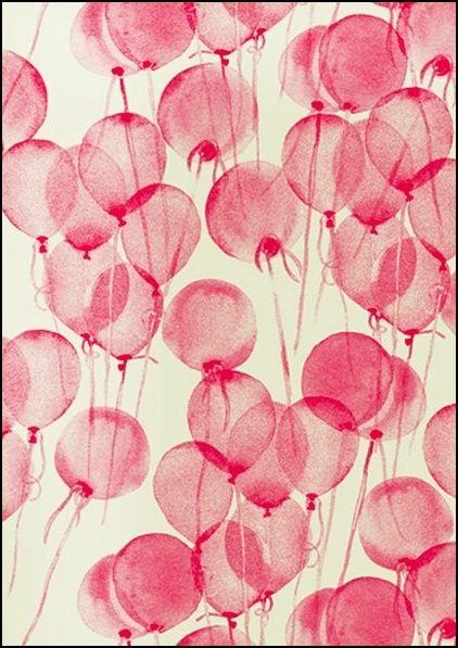 fondo de pantalla con globos