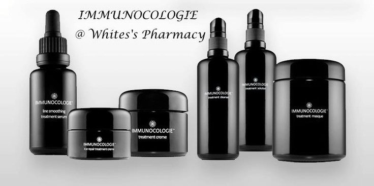 Immunocologie anti-aging products available at White's in East Hampton. Really nice...i love this product