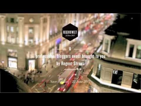 Regent Tweet is a digital shopping event for professional bloggers taking place on 22 June 2013.
