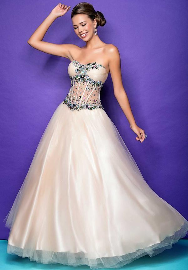 Corset top evening dresses - Best dresses collection
