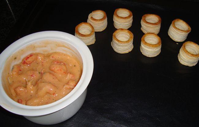 Recept voor Mini hapje met kreeftenstaartjes. Meer originele recepten en bereidingswijze voor voorgerechten & hapjes vind je op gette.org.