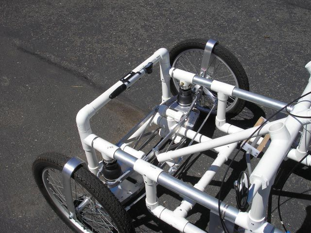 Ultimate DIY 4 wheel bike plans and kits. Made from PVC! Do it yourself four wheel cycles ...