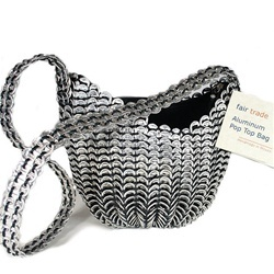 Recycled Pop Tab Purse