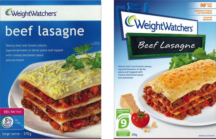 New Packaging for Weight Watchers UK