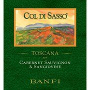 Banfi Col di Sasso 2014 from Tuscany, Italy - Intense ruby-red, with purple hues. Black cherries and spice aromas. Rich with soft tannins, delivering persistent ...