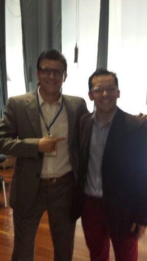 Jhon Jaime Osorio periodista de Blu Radio un crack del deporte, periodismo y la academia
