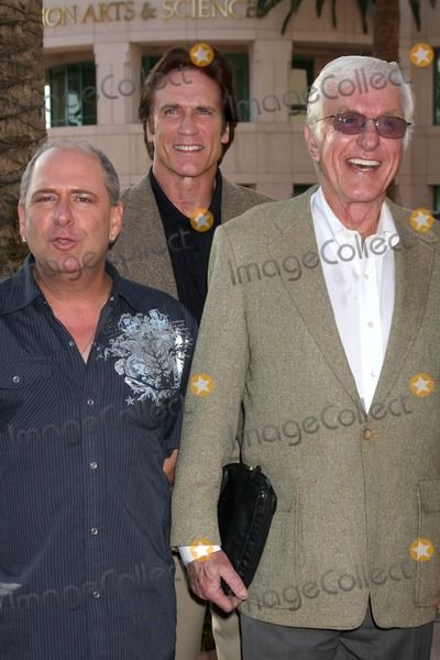 """Larry Mathews, Dick Van Dyke & Son Barry Van Dyke  arriving at the """"Salute to TV Dads"""" Event at the Academy of Television Arts & Sciences in North Hollywood , CA on June 18, 2009."""