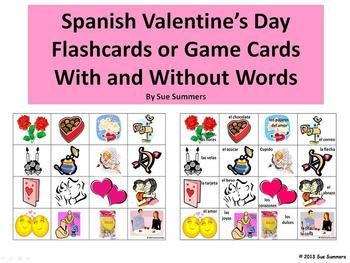 valentine day vocabulary