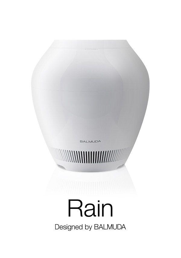 BALMUDA Rain | 空気を洗う美しい加湿器。
