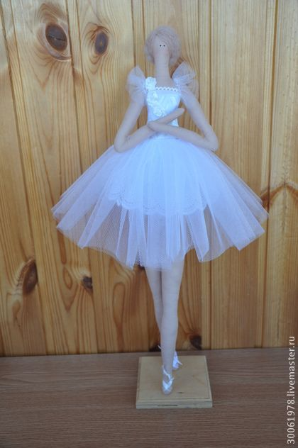 Балерина в стиле Тильда. Красота.Талант. Мастерство. Музыка. Балет-это великое искусство! Эта кукла сшита по измененным выкройкам Тильды, для придания большего изящества образу. Балетная пачка, прическа и украшение в ней-классический Белый…