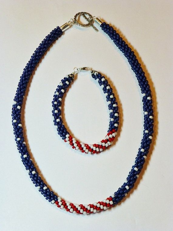 5649 best images about bead and jewlery ideas tutorials for Patriotic beaded jewelry patterns