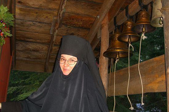 Монахиня Корнилия (Рис). Скит блж. Ксении Петербургской, Уайлдвуд, Калифорния,. 2006