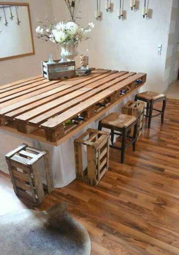 Möbel aus alten holzpaletten  1320 besten Palettenmöbel DIY - How to : Möbel aus Europaletten ...